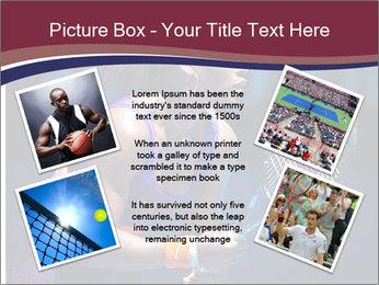 Tennis player PowerPoint Template - Slide 24