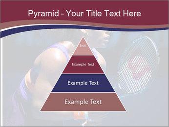 Tennis player PowerPoint Template - Slide 30