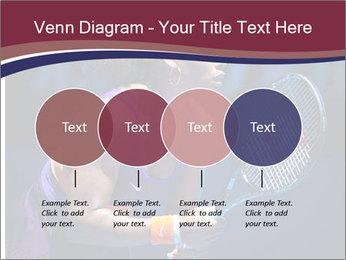 Tennis player PowerPoint Template - Slide 32
