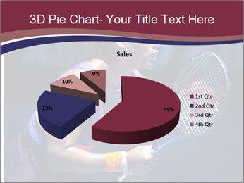 Tennis player PowerPoint Template - Slide 35