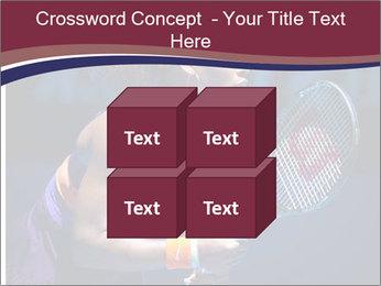 Tennis player PowerPoint Template - Slide 39