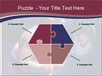Tennis player PowerPoint Template - Slide 40