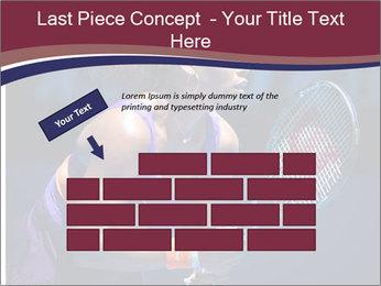 Tennis player PowerPoint Template - Slide 46