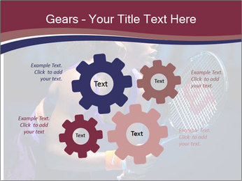 Tennis player PowerPoint Template - Slide 47