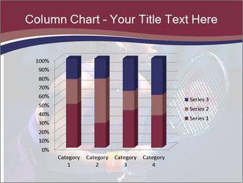 Tennis player PowerPoint Template - Slide 50