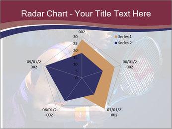 Tennis player PowerPoint Template - Slide 51