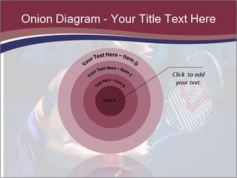 Tennis player PowerPoint Template - Slide 61