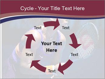 Tennis player PowerPoint Template - Slide 62