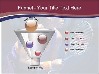Tennis player PowerPoint Template - Slide 63