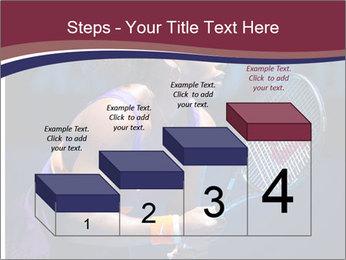 Tennis player PowerPoint Template - Slide 64