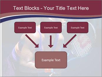 Tennis player PowerPoint Template - Slide 70
