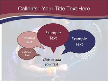 Tennis player PowerPoint Template - Slide 73