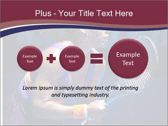 Tennis player PowerPoint Template - Slide 75
