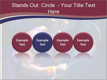 Tennis player PowerPoint Template - Slide 76