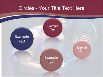 Tennis player PowerPoint Template - Slide 77