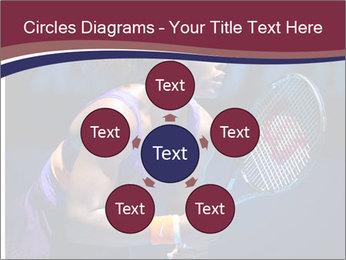 Tennis player PowerPoint Template - Slide 78