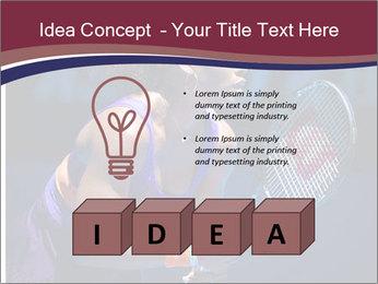 Tennis player PowerPoint Template - Slide 80