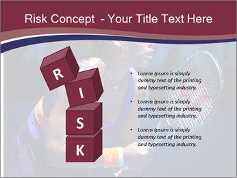 Tennis player PowerPoint Template - Slide 81