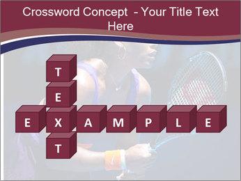 Tennis player PowerPoint Template - Slide 82