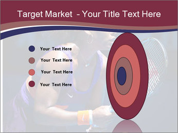 Tennis player PowerPoint Template - Slide 84
