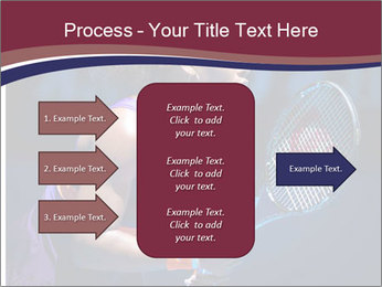 Tennis player PowerPoint Template - Slide 85
