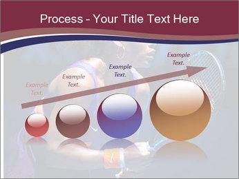 Tennis player PowerPoint Template - Slide 87