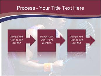 Tennis player PowerPoint Template - Slide 88