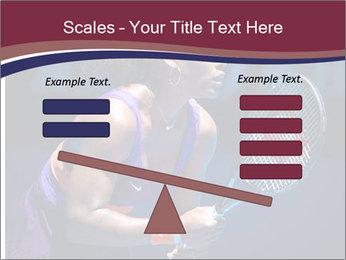 Tennis player PowerPoint Template - Slide 89