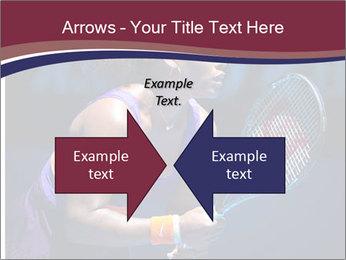 Tennis player PowerPoint Template - Slide 90