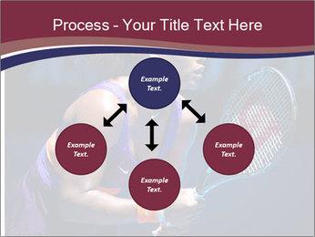 Tennis player PowerPoint Template - Slide 91