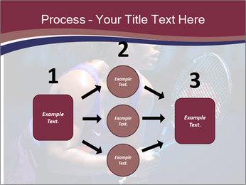 Tennis player PowerPoint Template - Slide 92