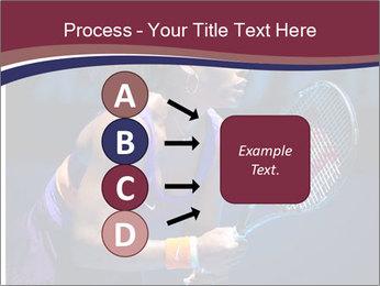 Tennis player PowerPoint Template - Slide 94