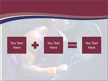 Tennis player PowerPoint Template - Slide 95