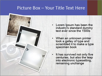 Old retro camera PowerPoint Template - Slide 17