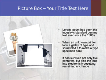 Old retro camera PowerPoint Template - Slide 20