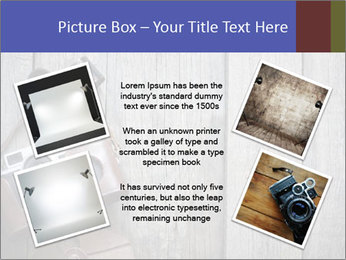 Old retro camera PowerPoint Template - Slide 24