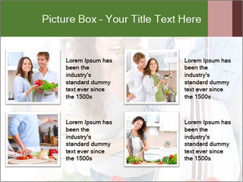 Happy Couple Eating Pizza PowerPoint Templates - Slide 14