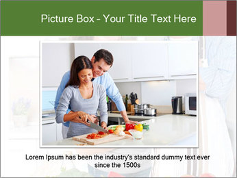 Happy Couple Eating Pizza PowerPoint Templates - Slide 15