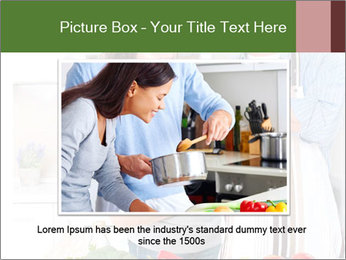 Happy Couple Eating Pizza PowerPoint Templates - Slide 16