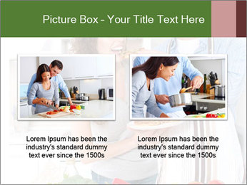 Happy Couple Eating Pizza PowerPoint Templates - Slide 18