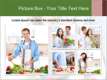Happy Couple Eating Pizza PowerPoint Templates - Slide 19