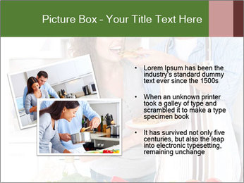 Happy Couple Eating Pizza PowerPoint Templates - Slide 20