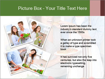 Happy Couple Eating Pizza PowerPoint Templates - Slide 23
