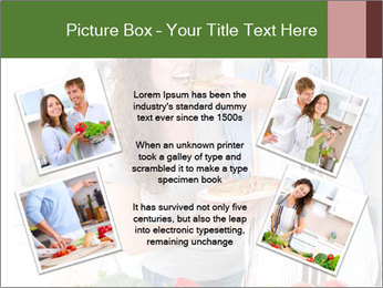 Happy Couple Eating Pizza PowerPoint Templates - Slide 24