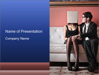 Men's infidelity PowerPoint Template - Slide 1