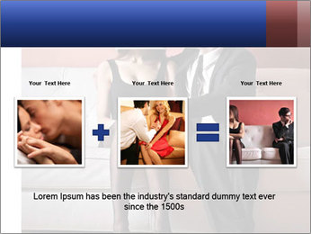Men's infidelity PowerPoint Template - Slide 22