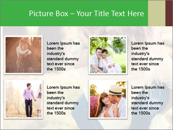 A young couple in love PowerPoint Template - Slide 14