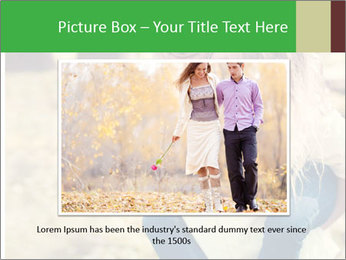 A young couple in love PowerPoint Templates - Slide 15