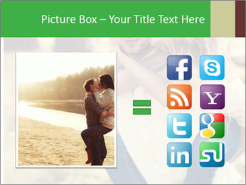 A young couple in love PowerPoint Templates - Slide 21