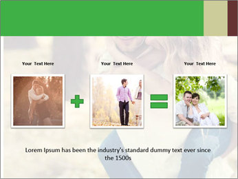 A young couple in love PowerPoint Template - Slide 22